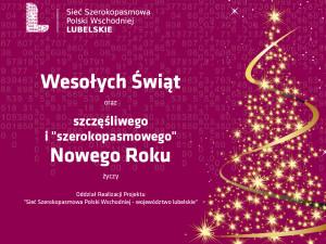 """""""Szerokopasmowe"""" życzenia świąteczne"""