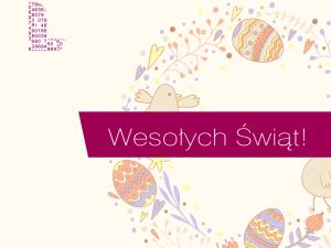"""Wielkanocne życzenia """"szerokopasmowe"""""""