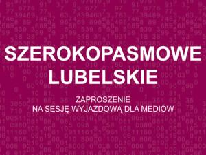 """""""Szerokopasmowa"""" sesja wyjazdowa dla mediów"""