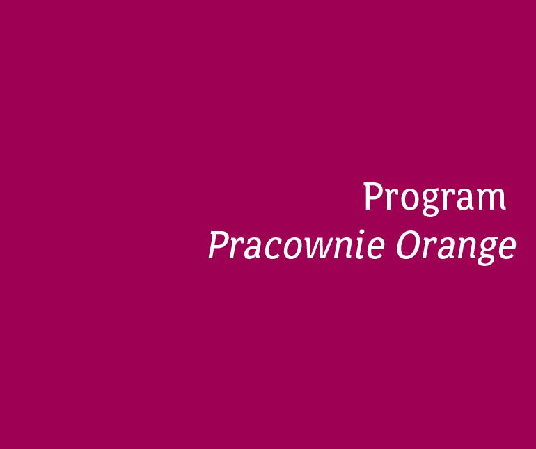 Program Pracownie Orange